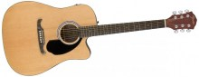 fender fa-125ce dreadnought natural (0961113021)